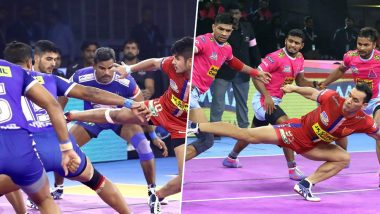 Haryana Steelers vs Jaipur Pink Panthers PKL 2019 Match Free Live Streaming and Telecast Details: Watch HAR vs JAI, VIVO Pro Kabaddi League Season 7 Clash Online on Hotstar and Star Sports