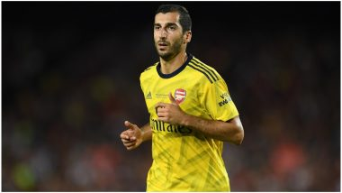 Henrikh Mkhitaryan Transfer News: Arsenal Midfielder Agrees to Join Serie A Club AS Roma on Season-Long Loan