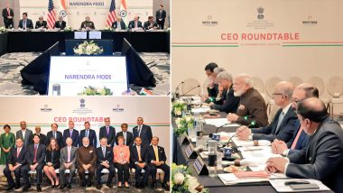 Modi in Houston: Prime Minister Receives Warm Welcome, MEA Terms Meeting With CEOs From Energy Sector As 'Fruitful'