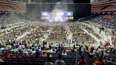 Howdy, Modi! Live News Updates: Indian-Americans Turning Out in Full Force at Houston's NRG Stadium to Hear PM Modi, Donald Trump