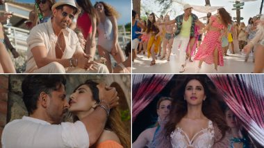 War Song Ghungroo: Hrithik Roshan and Vaani Kapoor's Party Track Shot in the Beaches of Italy Will Make You Groove like Never Before! Watch Video