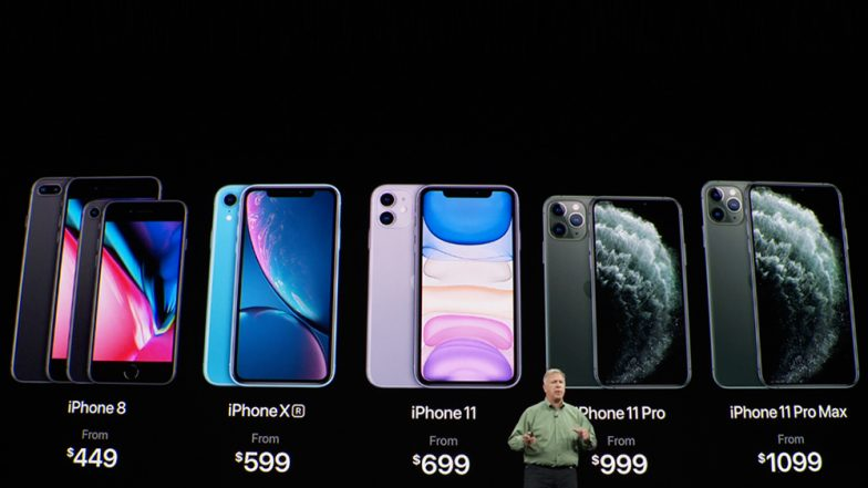 Apple iPhone 11, iPhone 11 Pro & Apple iPhone 11 Pro Max Launched; Prices, Pre-Order Date, Features & Specifications