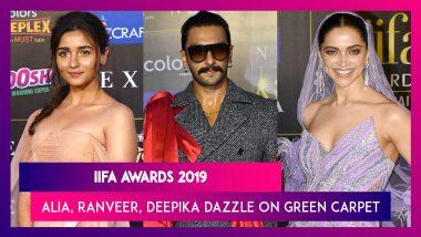 IIFA Awards 2019: Alia Bhatt, Deepika Padukone, Ranveer Singh & Others Dazzle On Green Carpet