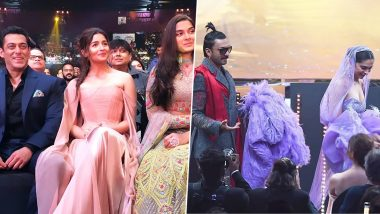 IIFA Awards 2019 Inside Pics: From Deepika Padukone-Ranveer Singh's PDA to Salman Khan-Alia Bhatt's 'Inshallah' Moment, Snaps You Shouldn't Miss