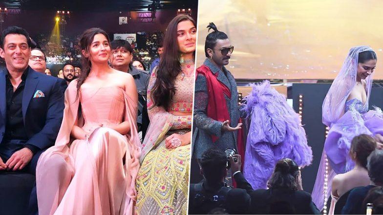 IIFA Awards 2019 Inside Pics: From Deepika Padukone-Ranveer Singh's PDA to Salman Khan-Alia Bhatt's 'Inshallah' Moment, Snaps You Shouldn't Miss