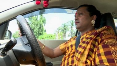 Rani Kinnar Becomes India's First Five-Star-Rated Transgender Cab Driver For Uber