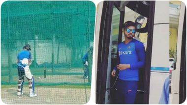 Indian Cricket Team Sweats it Out in the Nets Ahead of India vs South Africa, 2nd T20I 2019 (Watch Video Pics)