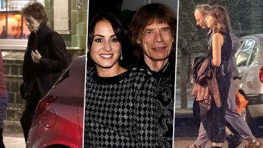 Mick Jagger Spotted on a Night Out with a Young Brunette and It's Not Melanie Hamrick