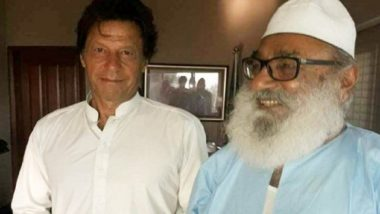 Imran Khan's Pic With 'Mitthu Mian' Goes Viral Amid Attack on Hindu Temple Over Ghotki Blasphemy Case