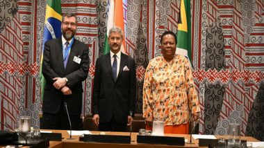 India, Brazil, South Africa Pledge to Work Together in Prosecuting Economic Offenders, Reforming of Multilateral System