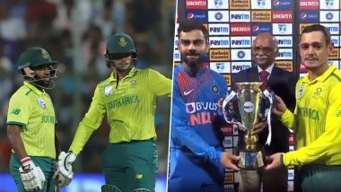 Quinton De Kock Plays Captain's Knock to Help South Africa Level T20I Series; Twitter Reacts to Another Indian Failure