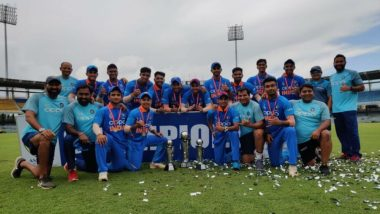Under-19 Asia Cup 2019 Final: India Clinches Title, Beats Bangladesh in a Thriller by Five Runs