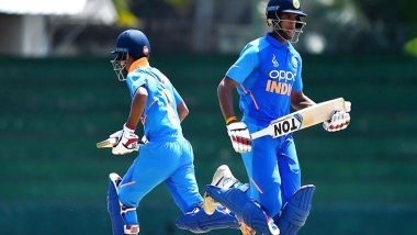 India Defeat Pakistan in U-19 Asia Cup 2019, Cricket Fans Hail Indian Team With Cheerful Comments and GIFs on Twitter (See Tweets)