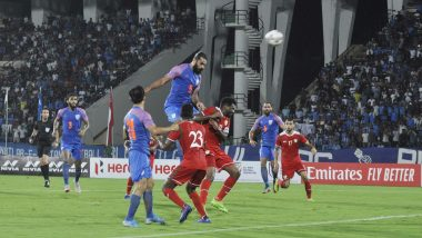 India vs Oman, FIFA World Cup 2022 Qualifier Highlights: Al-Mandhar Scores Twice as Oman Beat Hosts