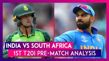 India vs South Africa T20I 2019: Know About The Team's Preparation Ahead of Dharamshala Clash
