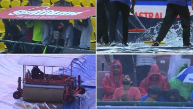 India vs South Africa, 1st T20I: Match Abandoned without a Ball Being Bowled Due to Persistent Rain