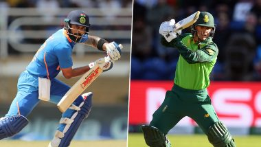 Live Cricket Streaming of India vs South Africa 1st T20I 2019 Match on DD Sports and Hotstar: Check Live Cricket Score, Watch Free Telecast of IND vs SA on TV and Online