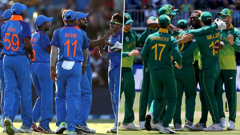 India vs South Africa Live Cricket Score, 3rd T20I 2019 Match: Get Latest Scorecard and Ball-by-Ball Commentary Details for IND vs SA Twenty20 Game from Bengaluru