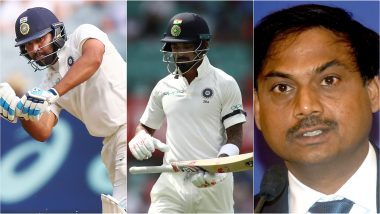India vs South Africa 2019 Test Squad Selection: Rohit Sharma & Other Batsmen Who Can Replace KL Rahul As Opener