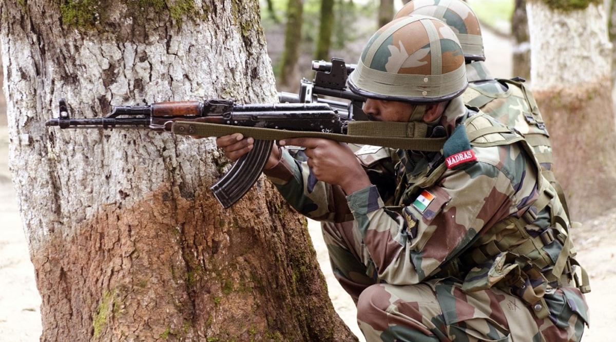 Indian Army JCO Martyred in Firing by Terrorists in Jammu and Kashmir's Naushera, Encounter Underway