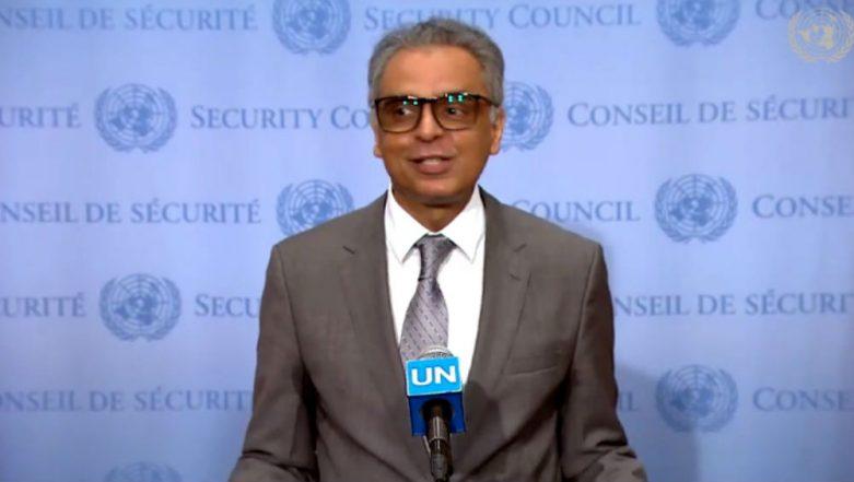 Syed Akbaruddin, India's UN Envoy, Makes Veiled Attack on Pakistan Over Providing Safe Havens to Terrorists