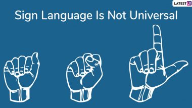 International Day of Sign Languages 2019: Interesting Facts And Information About Sign Language You Should Know