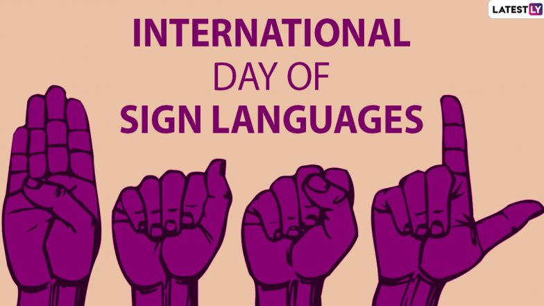Image result for international day of sign languages 2019