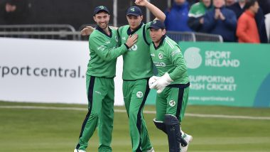 AFG vs IRE 1st ODI 2021 Live Streaming Online and Match Timings in India: Get Afghanistan vs Ireland Match Free TV Channel and Live Telecast Details