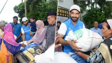 Irfan Pathan Donates Food to Poor, Shares Heartwarming Message For His Father That Will Encourage Others to Give More!