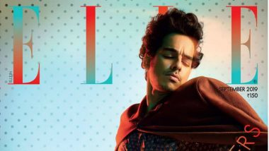 Ishaan Khattar Turns Cover Boy For September Issue of Elle India Magazine (View Pic)