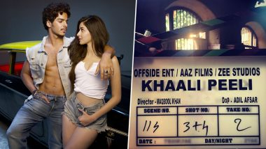 Ishaan Khatter, Ananya Panday Starrer Khaali Peeli Goes on Floor (View Pic)