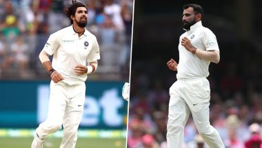 Ishant Sharma and Mohammed Shami Birthdays: Team India Hold Joint Birthday Celebrations for Both Speedsters after Emphatic Series Whitewash over West Indies