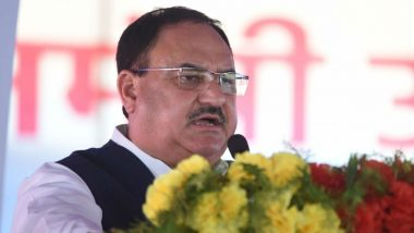 BJP President JP Nadda Reaches Dehradun as Part of His 120-Day Nationwide Tour
