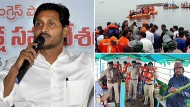 Andhra Pradesh: 11 Drown After Boat Capsizes in Godavari River, Jagan Mohan Reddy Announces Rs 10 lakhs ex-Gratia to Deceased's Kin