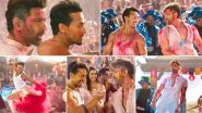 Jai Jai Shivshankar Song: Hrithik Roshan and Tiger Shroff's Dance 'War' Will Make it Impossible For You to Look Away from Your Screens (Watch Video)