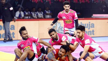 PKL 2019 Dream11 Prediction for Jaipur Pink Panthers vs Patna Pirates: Tips on Best Picks for Raiders, Defenders and All-Rounders for JAI vs PAT Clash