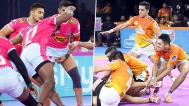 Jaipur Pink Panthers vs Puneri Paltan PKL 2019 Match Free Live Streaming and Telecast Details: Watch JAI vs PUN, VIVO Pro Kabaddi League Season 7 Clash Online on Hotstar and Star Sports