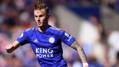 James Maddison Trolls Sun Newspaper After Publication Calls Leicester Star's £6500 Louis Vuitton Backpack 'Horrific'