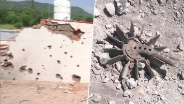 Jammu and Kashmir: Pakistan Violates Ceasefire Again, Several Houses Damaged in Rajouri District Due to Heavy Shelling