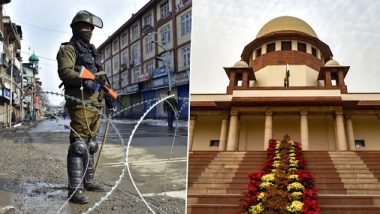 Article 370 Repeal: Supreme Court Sends Anuradha Bhasin's Plea on Illegal Detention of Children And Press Freedom to Kashmir Bench
