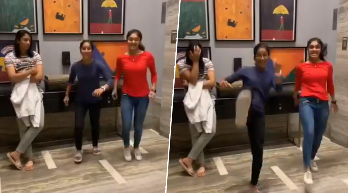 Jemimah Rodrigues and Harleen Deol Are 'CID' Fans: Indian Women's Cricketers Perform Daya's Slam-Bang Door Kick in Latest Post