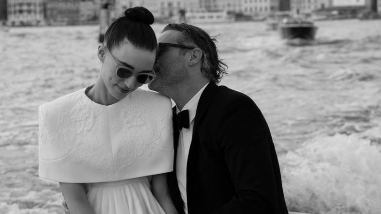 Joaquin Phoenix's Adorable Way Of Addressing Beau Rooney Mara Is By Calling Her A'Filthy Dragon