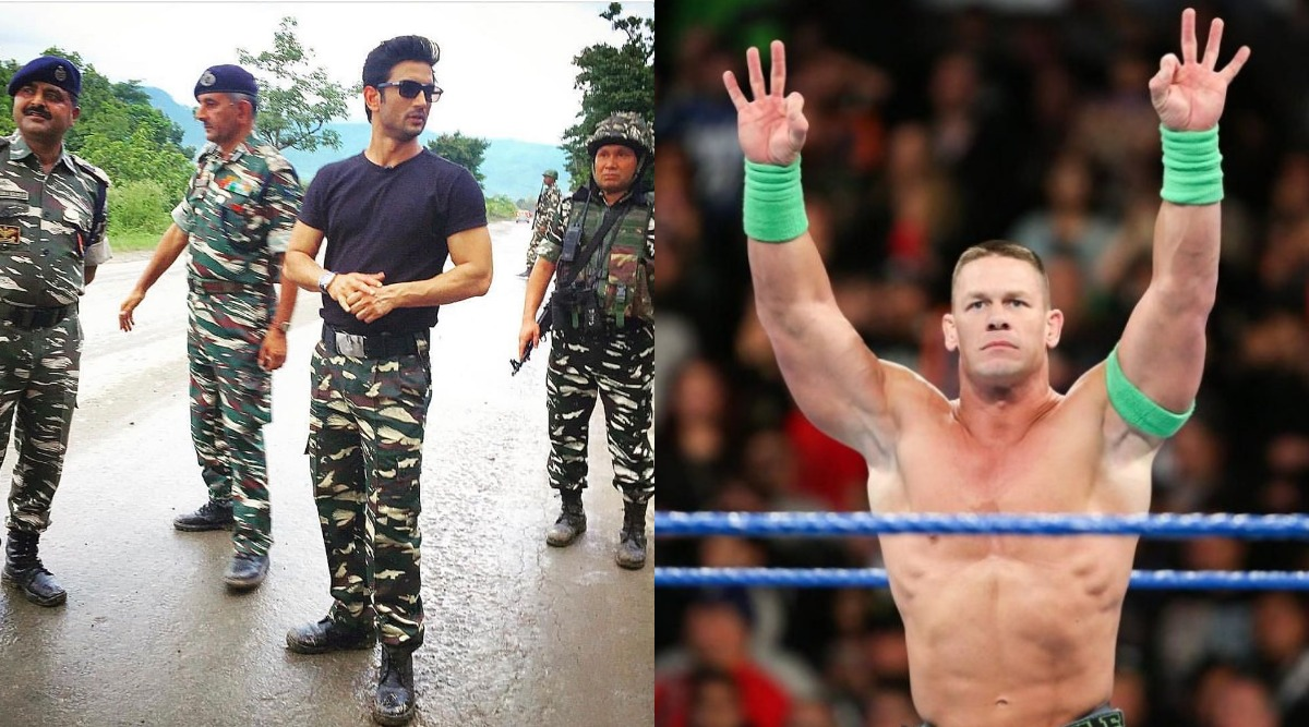 John Cena Leaves The Internet Confused By Posting A Picture Of Sushant Singh Rajput!