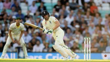 Ashes 5th Test Day 1 Report: Jos Buttler Strikes Back with Fighting Half-century After Mitchell Marsh Takes Four on Test Return