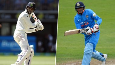India's Test Squad For South Africa 2019 Series: KL Rahul Axed, Shubman Gill Finds Spot, Rohit Sharma Also Named For Three Tests