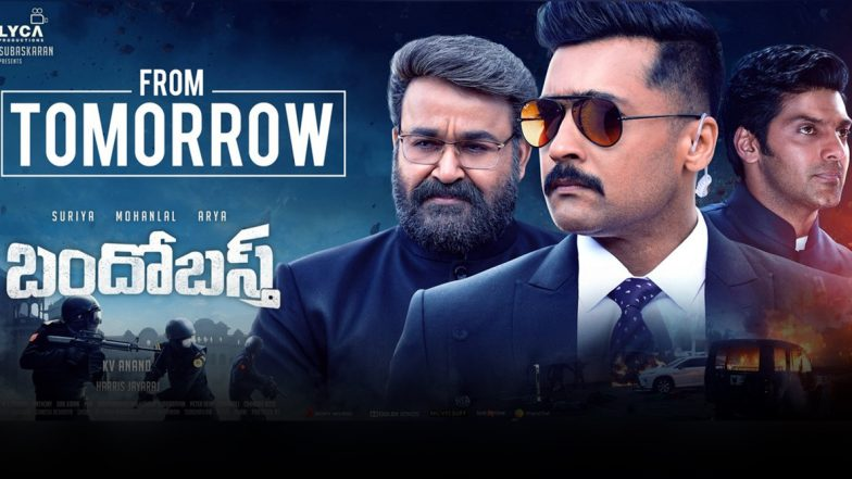 Kaappaan Chennai Box Office Collection Day 2: Suriya and Mohanlal's Action-Thriller Rakes In Rs 1.91 Crore