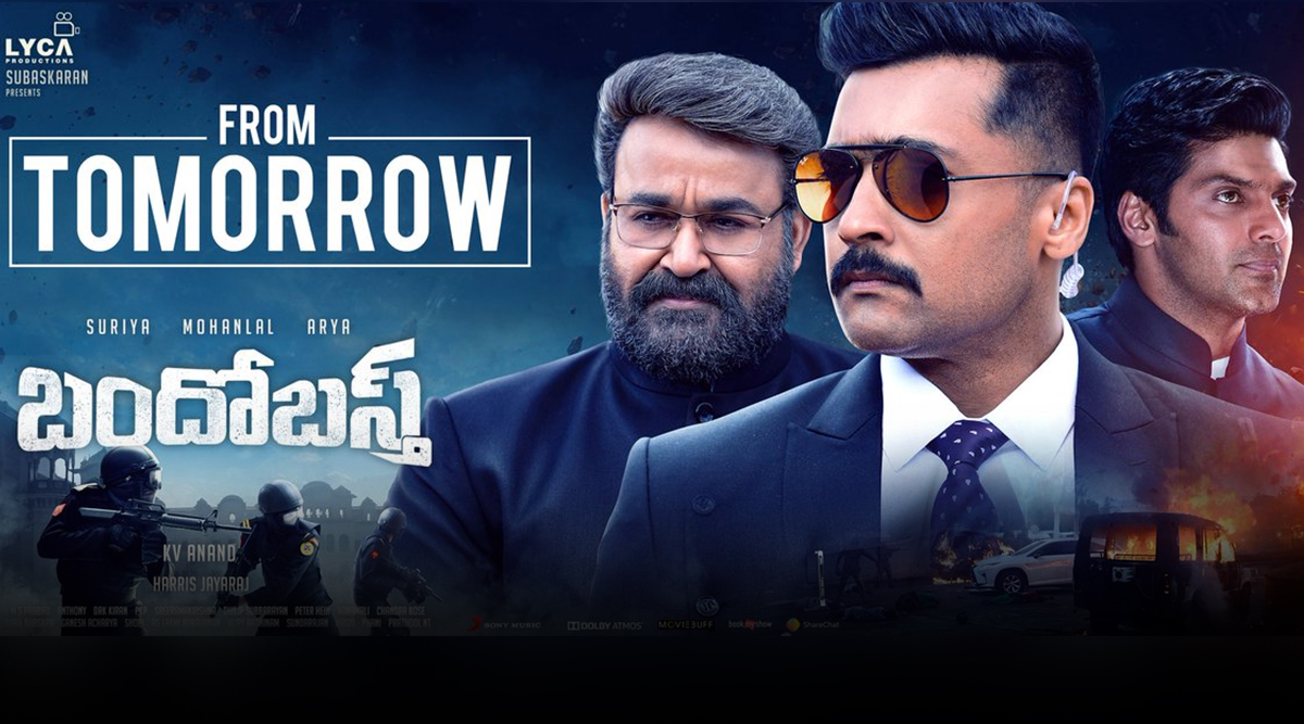 Kaappaan from Tomorrow! Fans Excited to Watch Mohanlal – Suriya's Action Thriller
