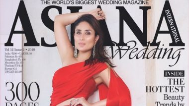 Lady in Red! Kareena Kapoor Khan Dazzles on the Cover of This Magazine; See Beautiful Pics of Bollywood Actress