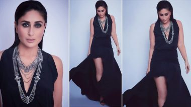 Kareena Kapoor Khan Makes Black Look Even More Beautiful as She Graces Dance India Dance 7 Sets (View Pics)