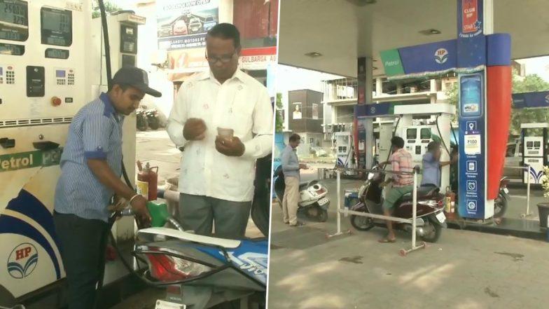 Karnataka: 'No Helmet, No Petrol' Campaign for Two-Wheeler Riders Comes Into Effect in Kalaburagi